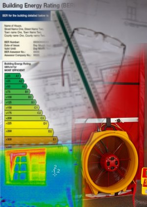 Building Thermography Cork, Blower Door, Energy Ratings and Analysis, BER